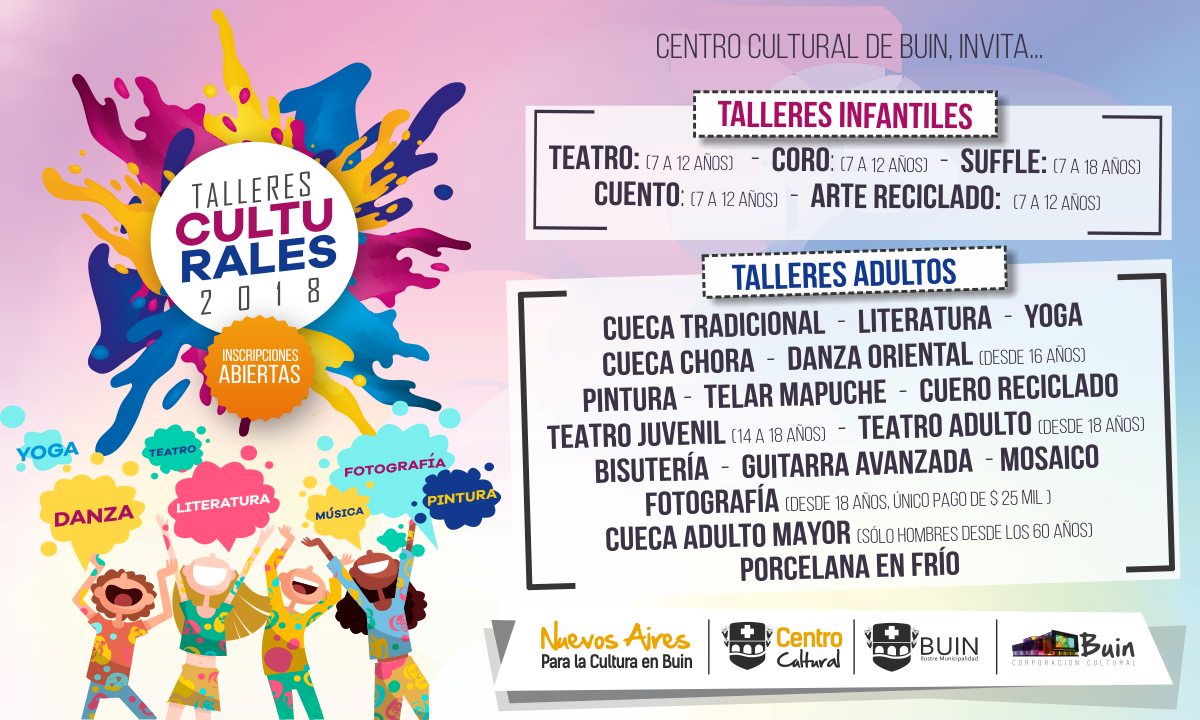 banner-TALLERES-CULTURALES-2018
