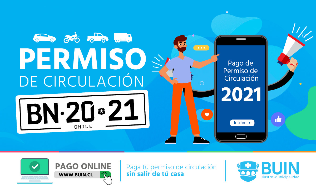 Permiso de circulación 2021