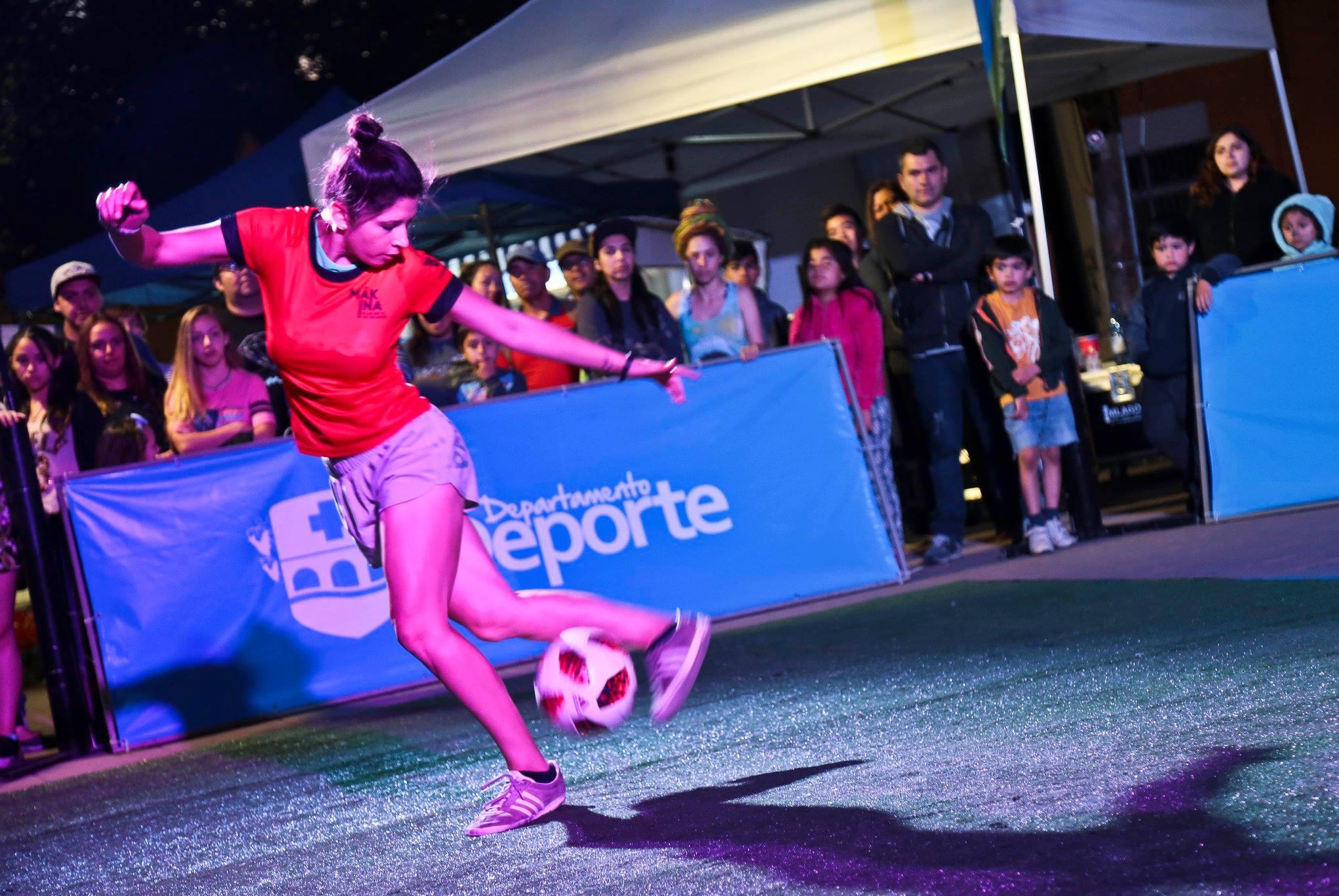 Freestyle y Slackline deportes urbanos que sorprendieron a los buinenses