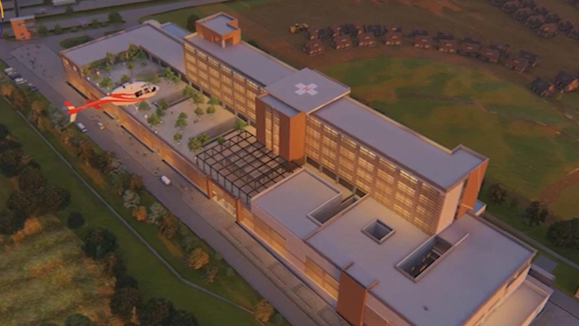 SEIS EMPRESAS ENTRAN EN CARRERA POR ADJUDICARSE LA CONSTRUCCIÓN DEL HOSPITAL BUIN Y PAINE